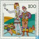 Postzegels - Duitsland, Bondsrepubliek [DEU] - Europa – Ontdekking van Amerika