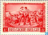 Postage Stamps - Belgium [BEL] - War victims among postal workers