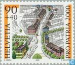 Postage Stamps - Switzerland [CHE] - City Images