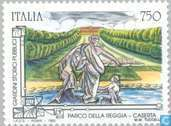 Postzegels - Italië [ITA] - Tuinen
