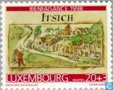 Postage Stamps - Luxembourg - Drawings
