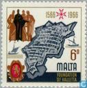 Briefmarken - Malta - Valletta 400 Jahre