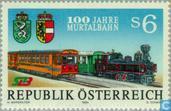 Postzegels - Oostenrijk [AUT] - 100 jaar Murtal spoorwegen