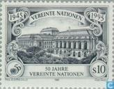 Timbres-poste - Nations unies - Vienne - UNO