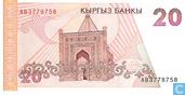 Banknoten  - Kyrgyz Bank - Kirgisistan 20 Som
