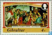 Postage Stamps - Gibraltar - Paintings Raffael