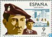 Postage Stamps - Spain [ESP] - State Security Corps