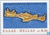 Postage Stamps - Greece - Crete 1866 uprising