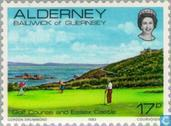 Postage Stamps - Alderney - Views of Alderney