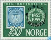 Timbres-poste - Norvège - Impression de timbres-anniversaire