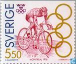Postage Stamps - Sweden [SWE] - Olympic Gold