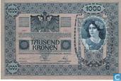 Banknotes - Austria - 1919 Issue - Deutschösterreich 1.000 Kronen ND (1919) P59