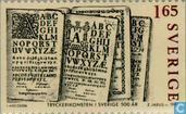 500 Jahre Druckereigewerbe in Schweden