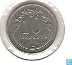 Coins - Poland - Poland 10 groszy 1993