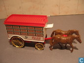 Model cars - Lledo - Large Horse drawn Van 'Coca-Cola'