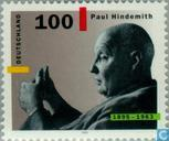 Postage Stamps - Germany, Federal Republic [DEU] - Paul Hindemith