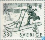 Postzegels - Zweden [SWE] - Europa – Kinderspelen