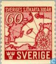 Postage Stamps - Sweden [SWE] - 300 years Swedish nautical charts