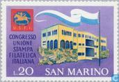 Postage Stamps - San Marino - Philatelic press conference