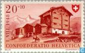 Timbres-poste - Suisse [CHE] - Maisons