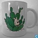 Keramiek - Kuifje - Mok : Milou Cactus