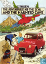Bandes dessinées - Tintin - The adventures of the 2 CV6 ... and the haunted cave