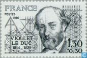 Postzegels - Frankrijk [FRA] - Viollet-le-Duc, Eugène-Emmanuel