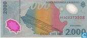 Banknotes - Romania - 1999 Commemorative Issue - Romania 2,000 Lei 1999