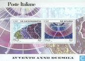Timbres-poste - Italie [ITA] - Les gens et l'espace