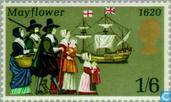 Postage Stamps - Great Britain [GBR] - Mayflower 1620