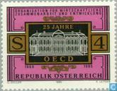 Postage Stamps - Austria [AUT] - OECD 25 years