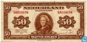 1943 50 Niederlande Gulden