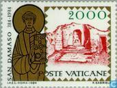 Postage Stamps - Vatican City - Pope Damasus I