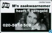 Phone cards - PTT Telecom - FNV, m'n zaakwaarnemer ...