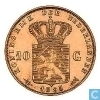 Netherlands 10 gulden 1895