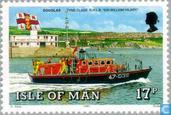 Postage Stamps - Man - Lifeboats