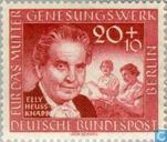 Postage Stamps - Berlin - Heuss-Knapp, Elly