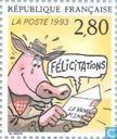 Postage Stamps - France [FRA] - Greeting stamps
