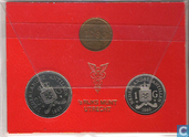 Coins - Netherlands Antilles - Netherlands Antilles year set 1980 (Beatrix)