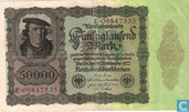 Banknotes - Reichsbanknote - Germany 50,000 Mark