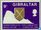 Timbres-poste - Gibraltar - Conférence du Commonwealth britannique