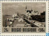 Timbres-poste - Belgique [BEL] - Le développement du tourisme