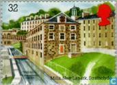 Postage Stamps - Great Britain [GBR] - Industrial Architecture
