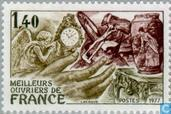 "Postage Stamps - France [FRA] - Contest ""The Best of craftsmen'"