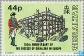 Postage Stamps - Gibraltar - Diaconessen Gibraltar
