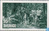Postzegels - Zweden [SWE] - Fitness Sport