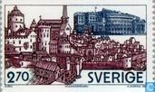 Postage Stamps - Sweden [SWE] - Parliament House