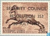 Postage Stamps - Cyprus [CYP] - UN Security Council Decision