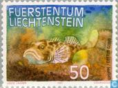 Briefmarken - Liechtenstein - Angeln