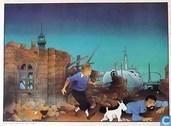 VERKEERDE RUBRIEK --> STRIP-EXLIBRIS/PRENT Hommage à Hergé - No. 2 Barcelone